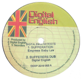 Empress Baby Luv - Sufferation / Dub / Chazbo - Sounds Of Meditation / Dub (Digital English) 12""